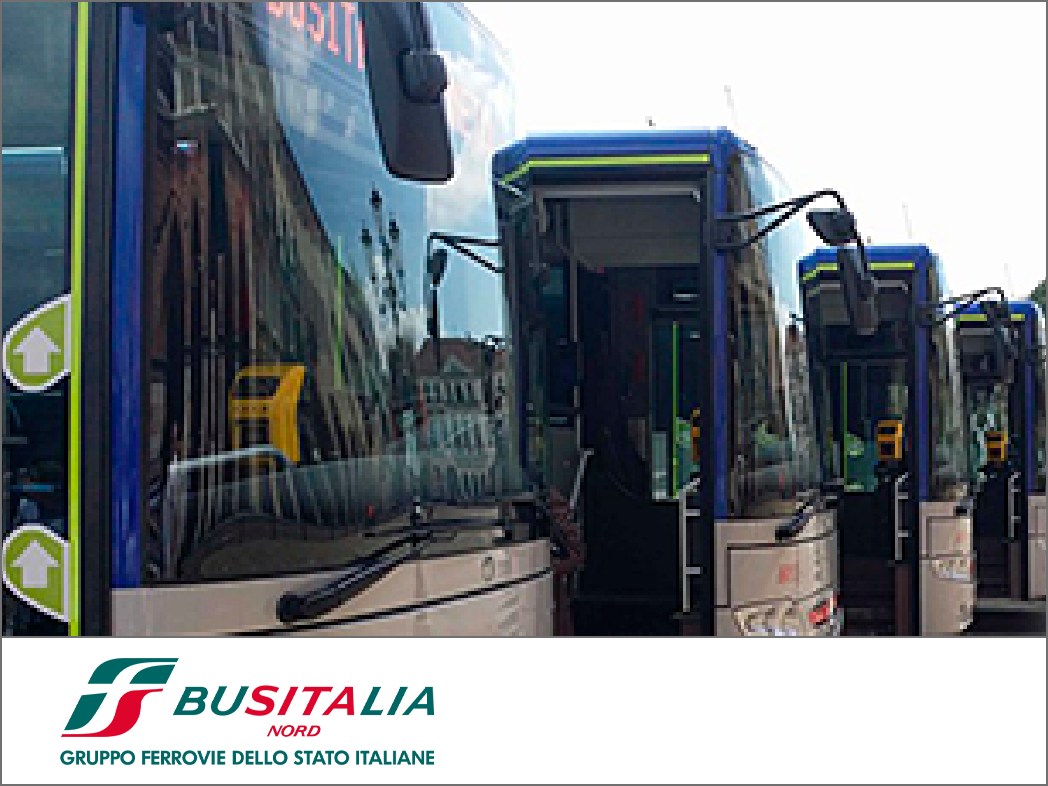 Bus Italia Veneto trasporto pubblico